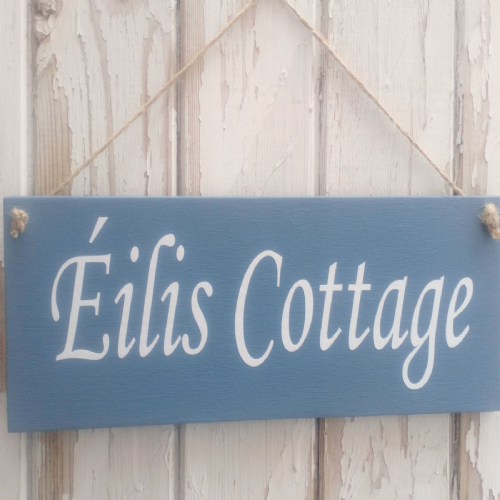 Personalised Wooden Address Plaque